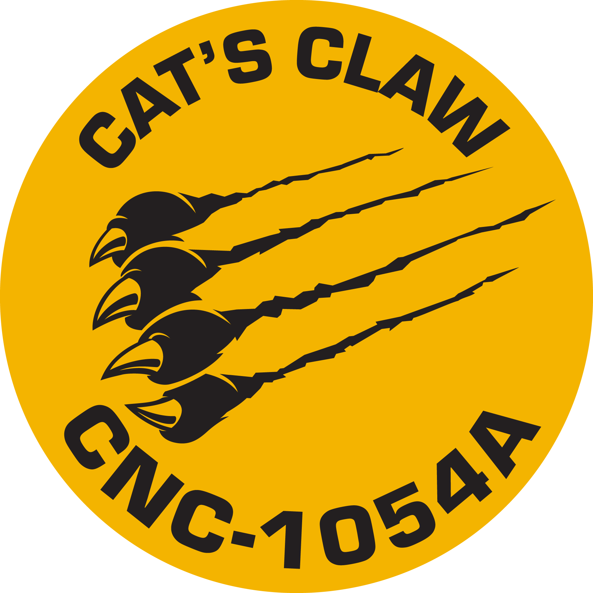 Cat's Claw Ship Logo