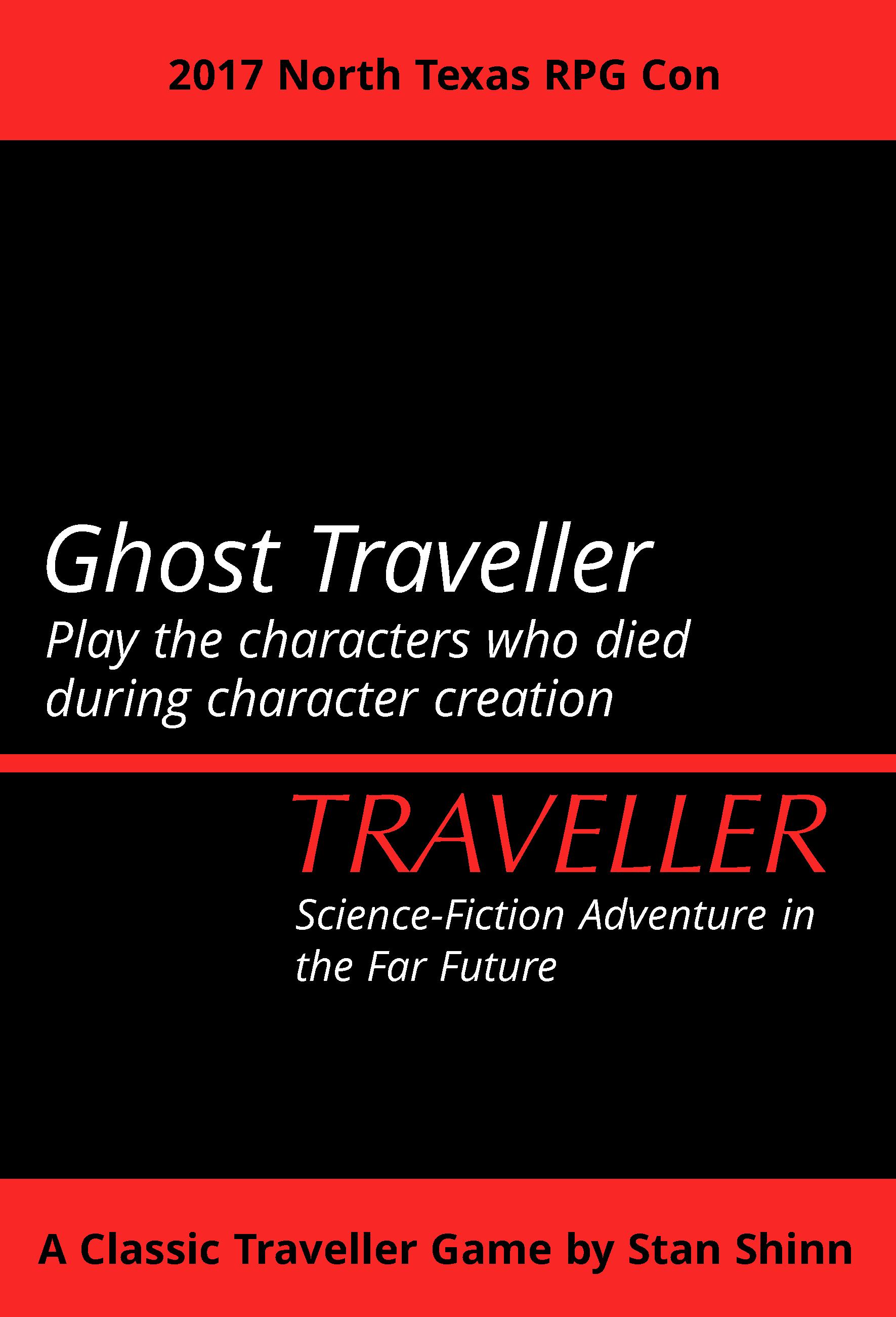Ghost Traveller NTRPGCon 2017