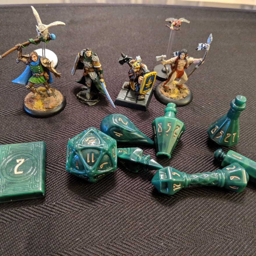 Cool Dice and Minis!