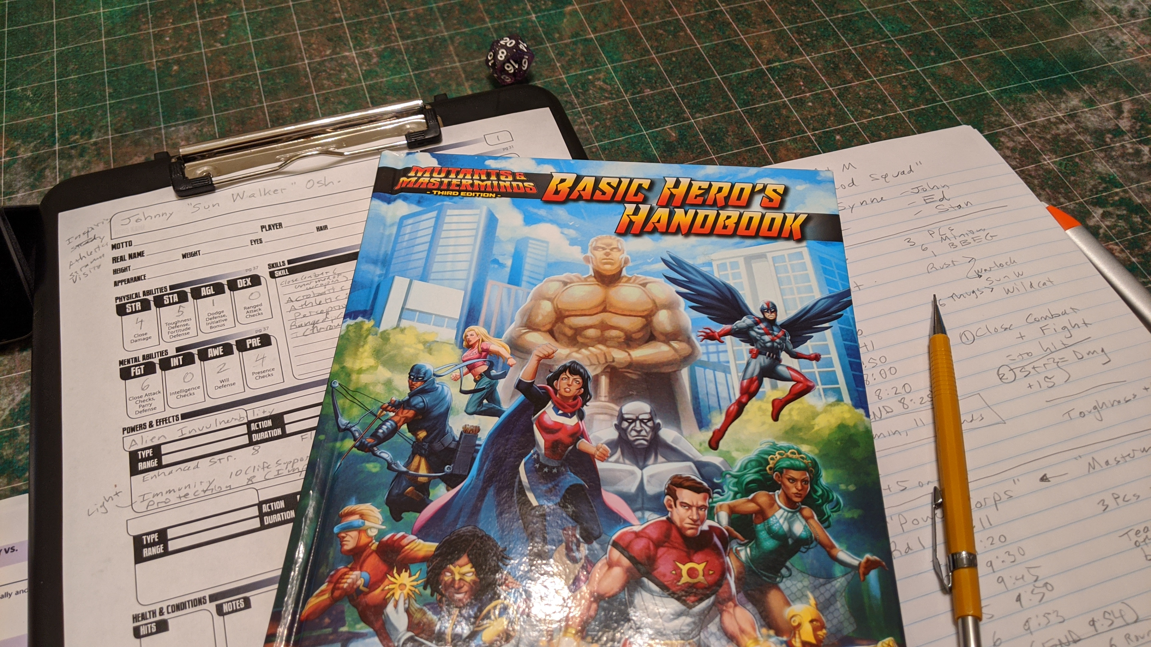 Mutants & Masterminds Game