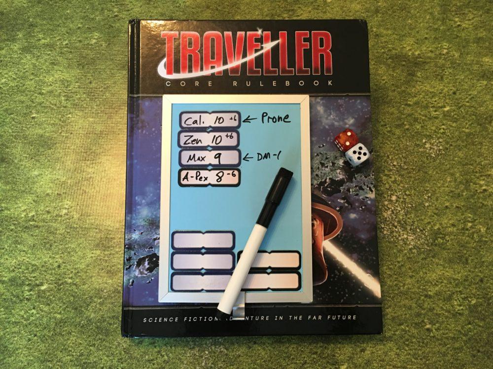 Combat Tracker for Traveller