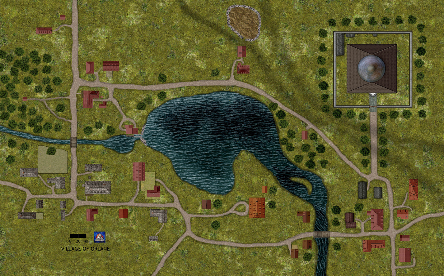 The Village of Orlane