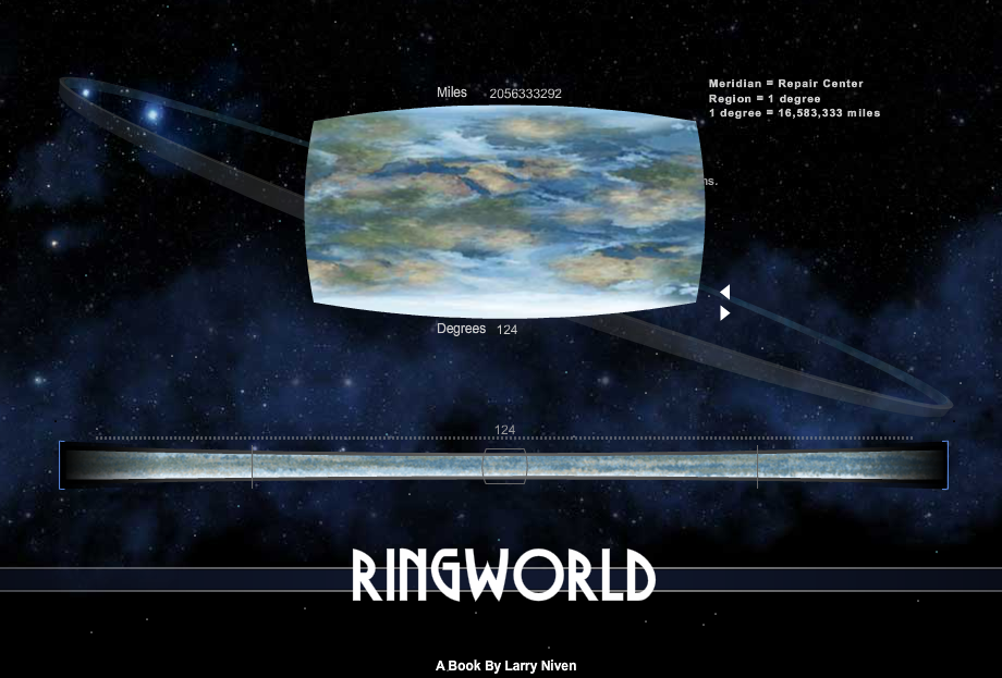 Ringworld Interactive Map