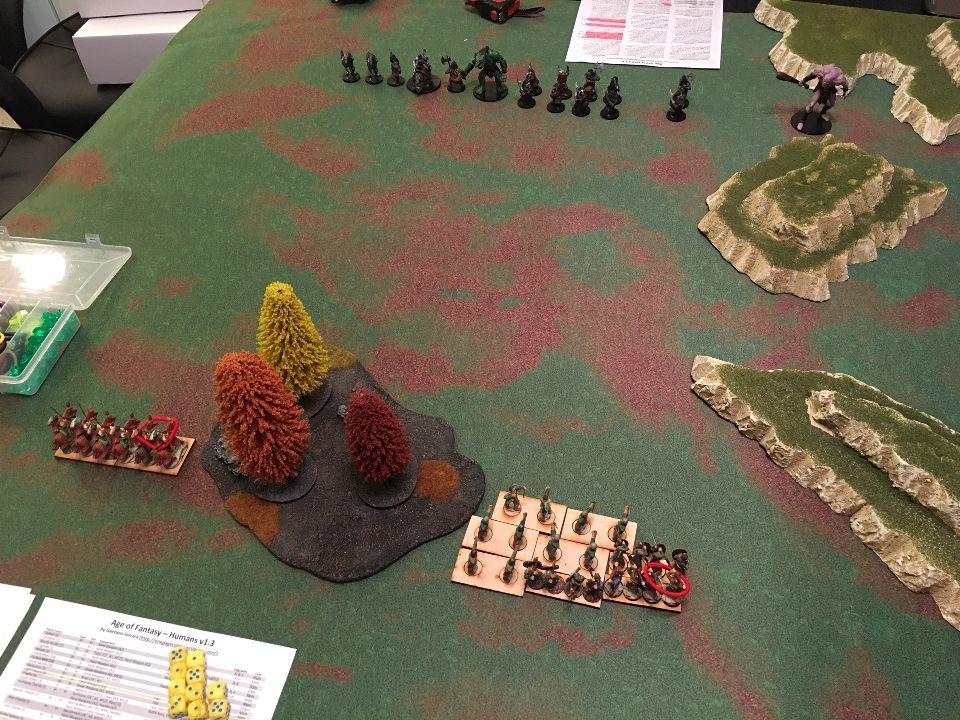 Byzantine versus Orcs and Ogres