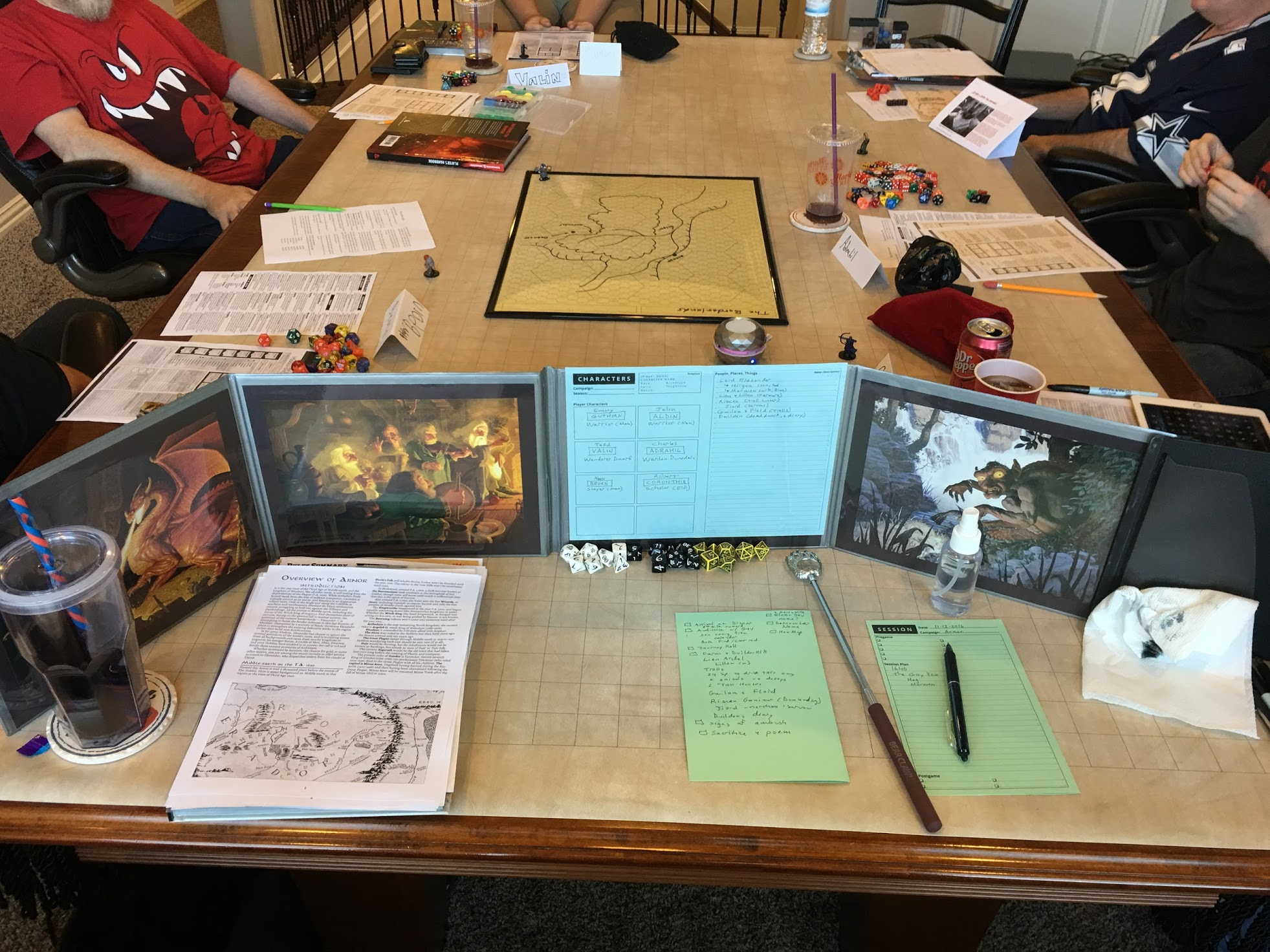 My First 'Adventures in Middle-earth' Game
