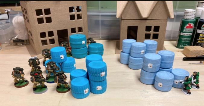 Barrels from Bottle Cap Idea