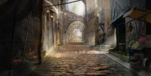 concepting_a_medieval_street_by_gycinn-d7jzbtf