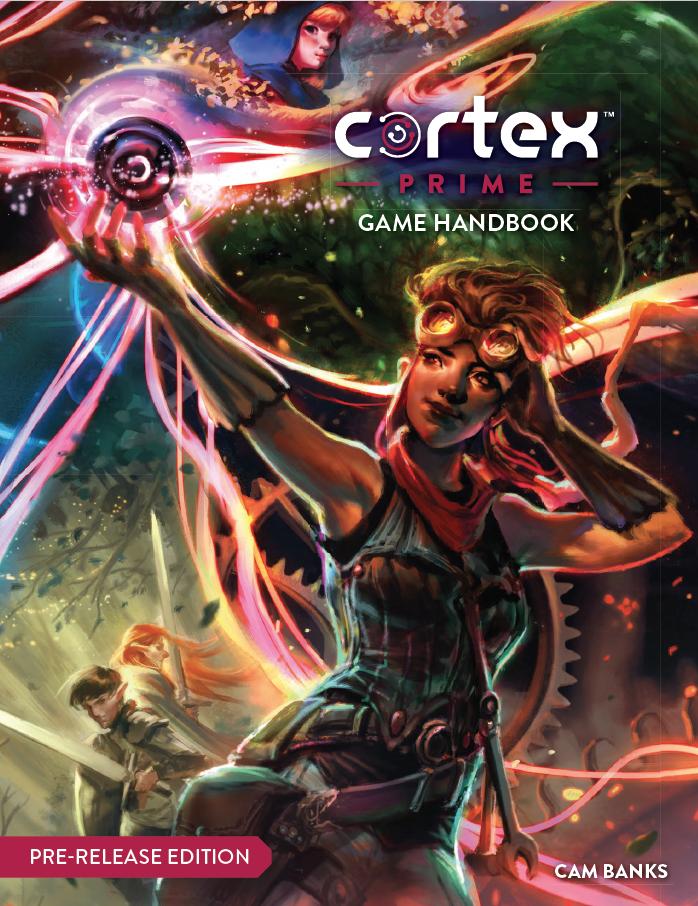 Cortex Prime Cover