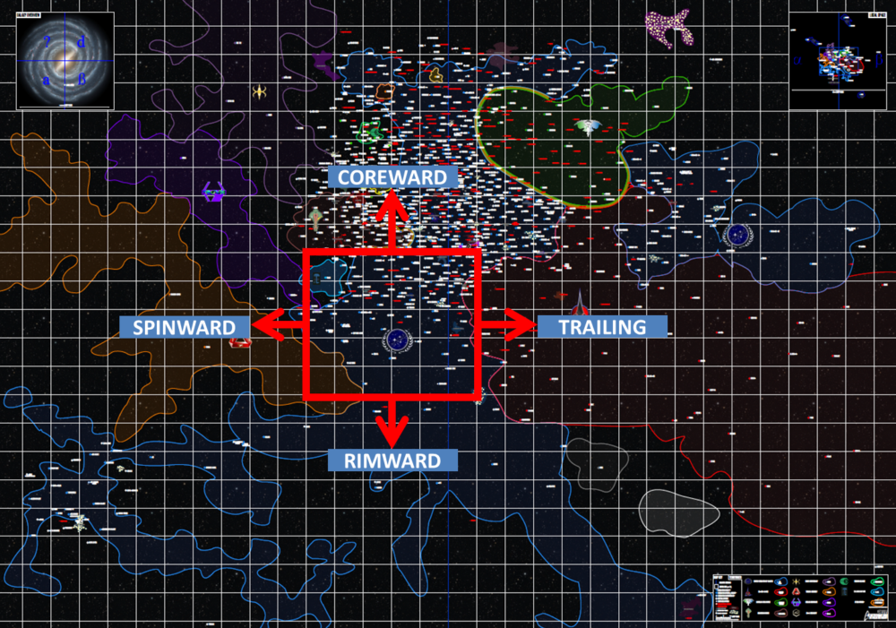 Galactic Map Directions