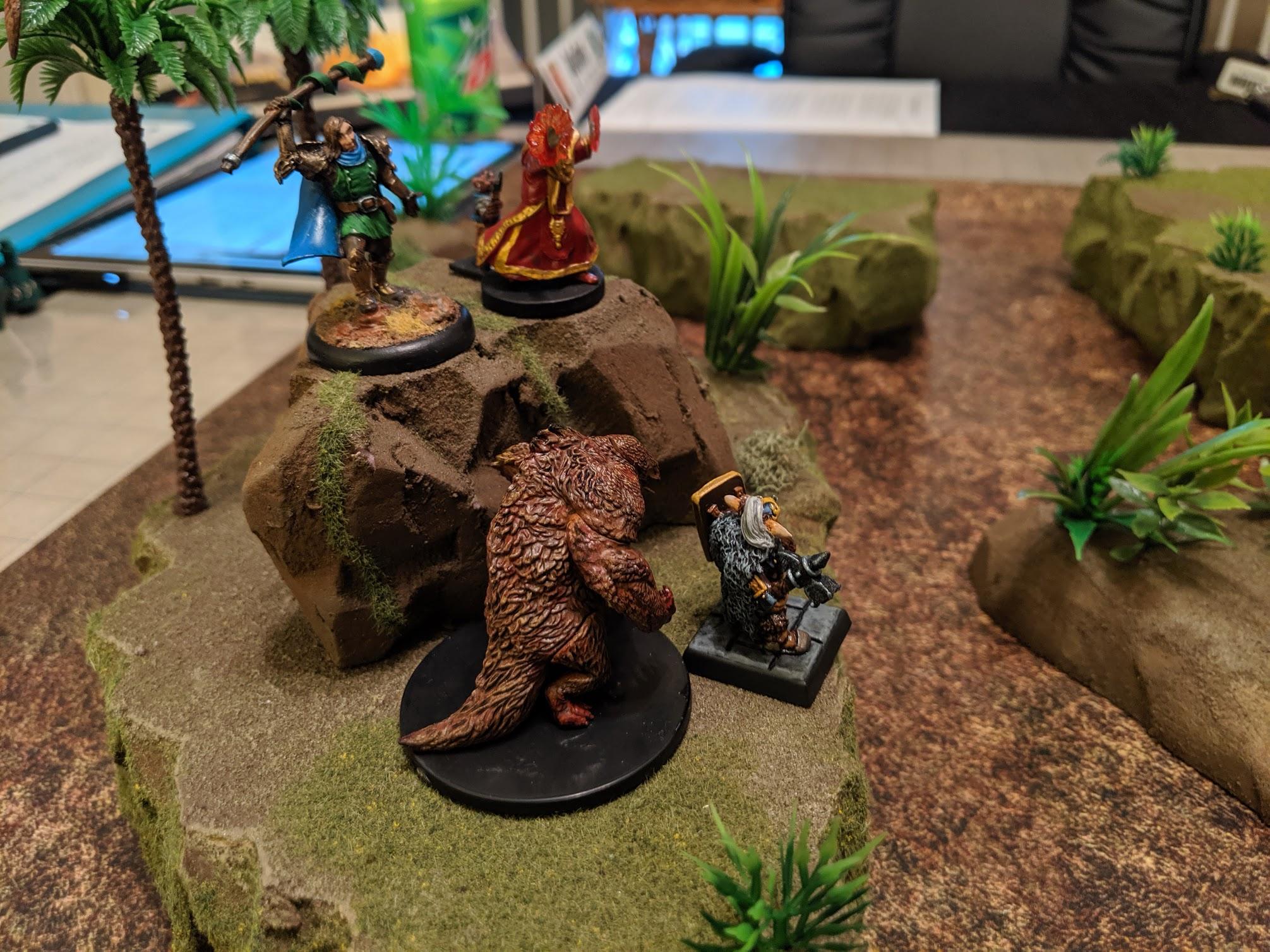 Owlbear attack!