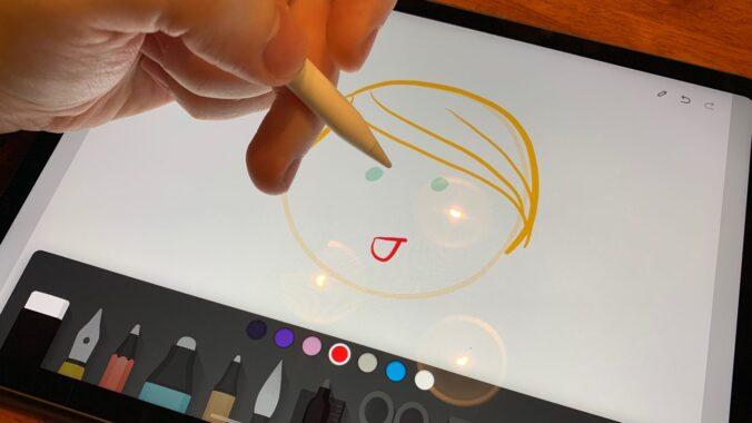 Picture of iPad Paper app