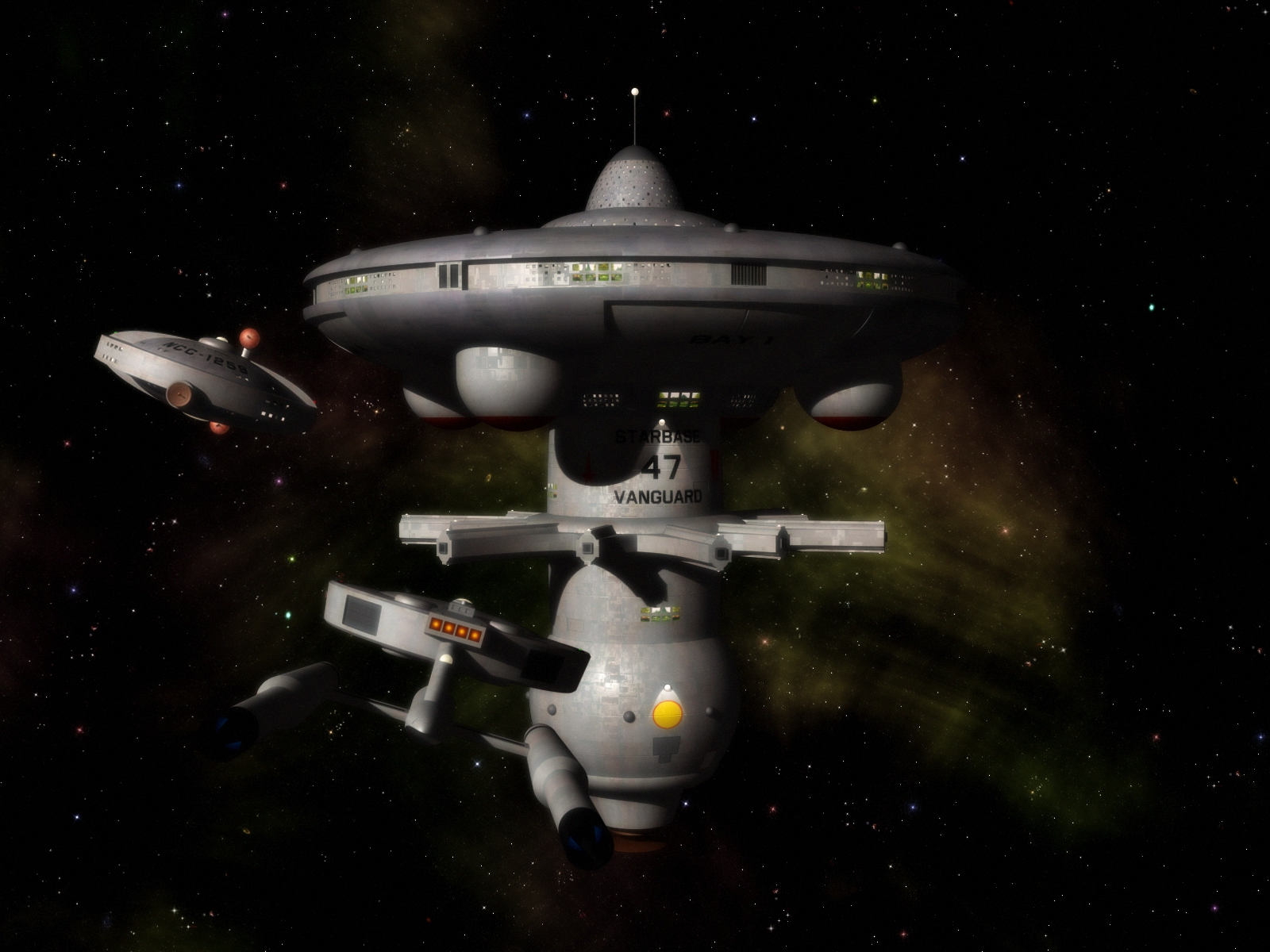 Starbase Vanguard by davemetlesits on DeviantArt
